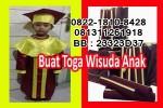 baju toga wisuda anak Bhayangkari Denpasar Bali