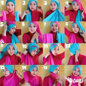 hijab fashion toga wisuda