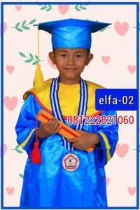 contoh gambar baju toga wisuda anak di Kelurahan Rawabadak Kecamatan Koja Jakarta Utara