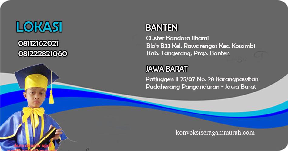 Jual Toga Wisuda Anak Surabaya Termurah