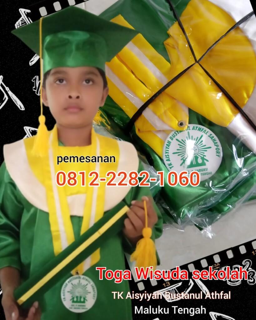 jual baju toga anak di Ambon Maluku