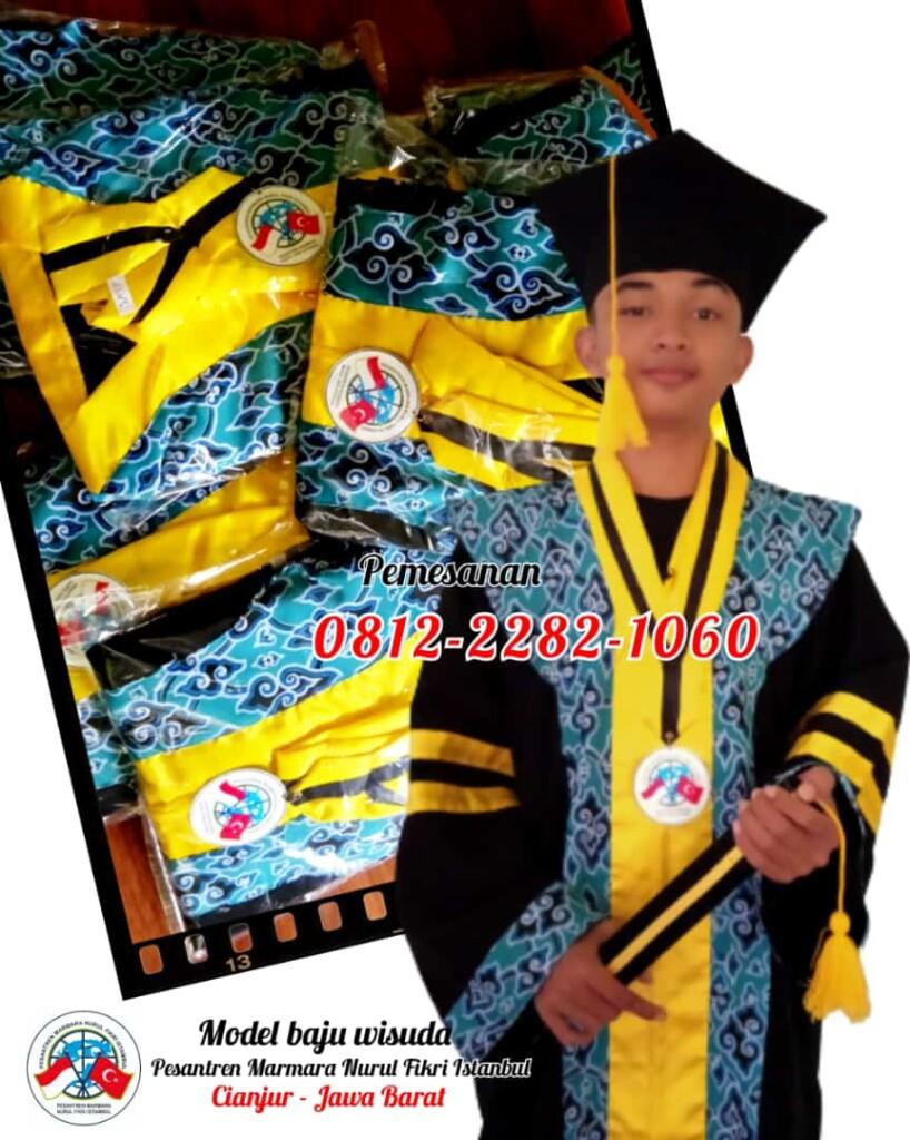 Model Baju Wisuda Batik Sekolah SMP
