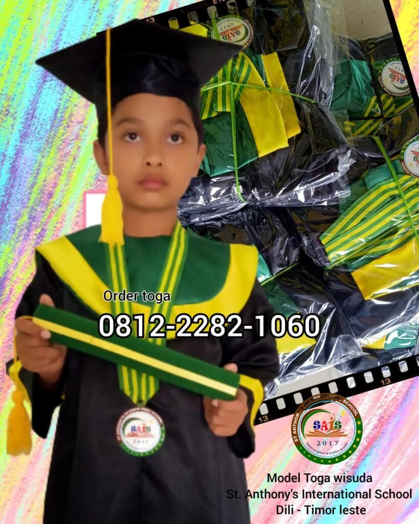 jual toga wisuda anak TK termurah di Kupang